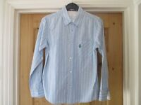 BOY'S LONG SLEEVE SHIRT JASPER CONRAN AGE 12