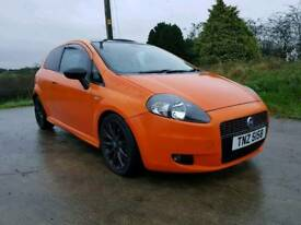 2006 FIAT GRAND PUNTO SPORTING DIESEL POSSIBLE PART EXCHANGE CREDIT CARDS ACCEPTED