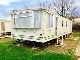 Cracking static caravan for a bargain price on Thurston Manor