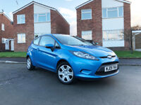 Ford Fiesta Style+, 2009, Blue, 1.25L, Amazing Condition, Serviced and MOT'd in August