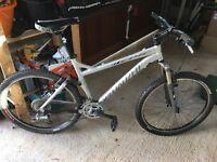 Specialised Epic mountain bike.