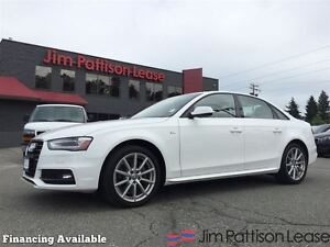 2016 Audi A4 Progressiv plus w/ Nav, leather, roof