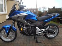 2016 Honda NC 750 XA DCT THE NEW MODEL WITH LED LIGHTS DATATAG, TRACKER MATURE OWNER
