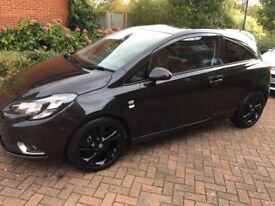 Vauxhall Corsa 1.2 Petrol Black Limited Edition