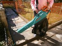 garden vacuum / leaf blower - powerful Bosch make