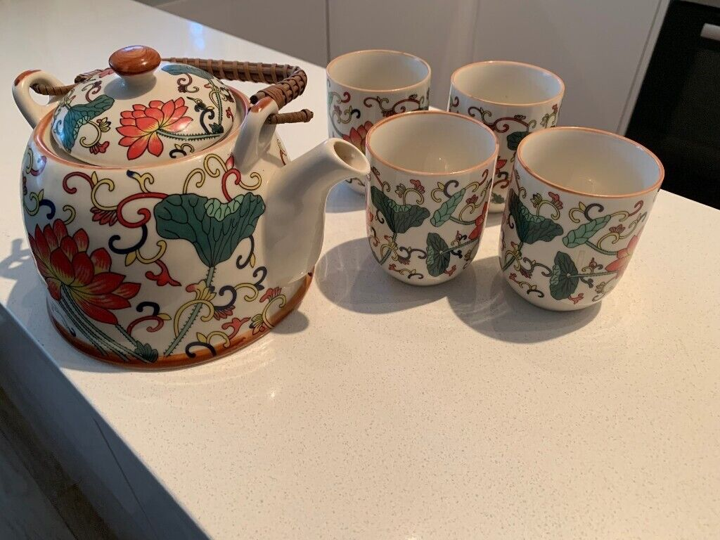 Lotus Flower Tea Set In Hammersmith London Gumtree