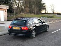 BMW 325d Lci (204Bhp) Estate, Black, Full Service History