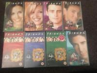 Friends Season 7 & 9 VHS collection