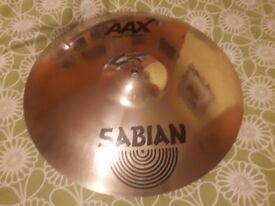 "Sabian AAX Stage Crash 17"" in excellent condition"