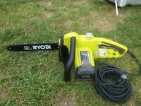 Ryobi RCS1835 chain saw used just once