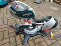 Metabo kgs 254 plus mitre saw