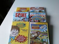 6 children's dvds. All in excellent condition. 6 for £10.