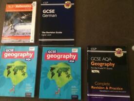 Current GCSE revision books