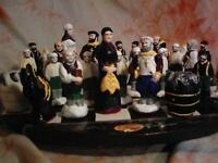 Hand painted newfoundland Chess Set ,,,,