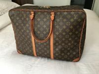 Genuine LV Louis Vuitton Sirius 50 Suitcase Travel Hand Bag, Monogram Canvas Leather, rrp £1300!!