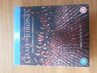 Game of Thrones BlueRay seasons 1-4