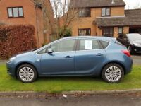 Vauxhall Astra 1.4 i VVT 16v Excite 5dr, 37350 miles, excellent condition