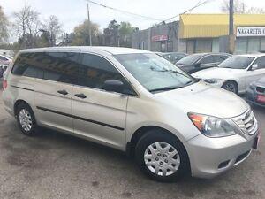 2009 Honda Odyssey DX/CAPTAINS/NAVI/BACKUPCAMERA/LOADED/CLEAN