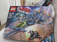 Brand Newe Lego - The Movie - Bennys Spaceship - 9 - 14 - 70816
