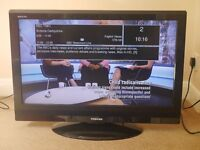 32 inch LCD Toshiba TV Television with FreeView