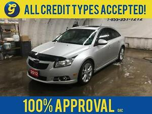 2012 Chevrolet Cruze LTZ RS*TURBO*LEATHER*SUNROOF*KEYLESS ENTRY