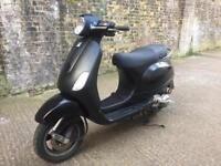 FULLY WORKING 2007 Piaggio Vespa LX 125cc learner 125 cc moped with mot.