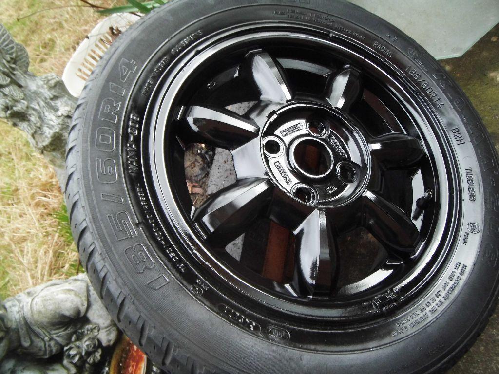 mazda mx5 genuine set 4 miata daisy mk1 alloy wheels x 4. Black Bedroom Furniture Sets. Home Design Ideas