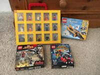 Lego Minifigures Carry Case and Sets