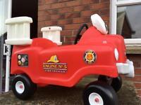 Little tikes fire engine