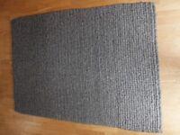 John Lewis Grey Wool Rug