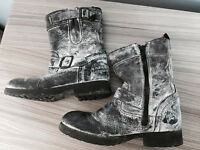 Girls Next winter cosy boots, size 12, quick sale at only £10