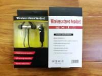 Brand New wireless stereo headset