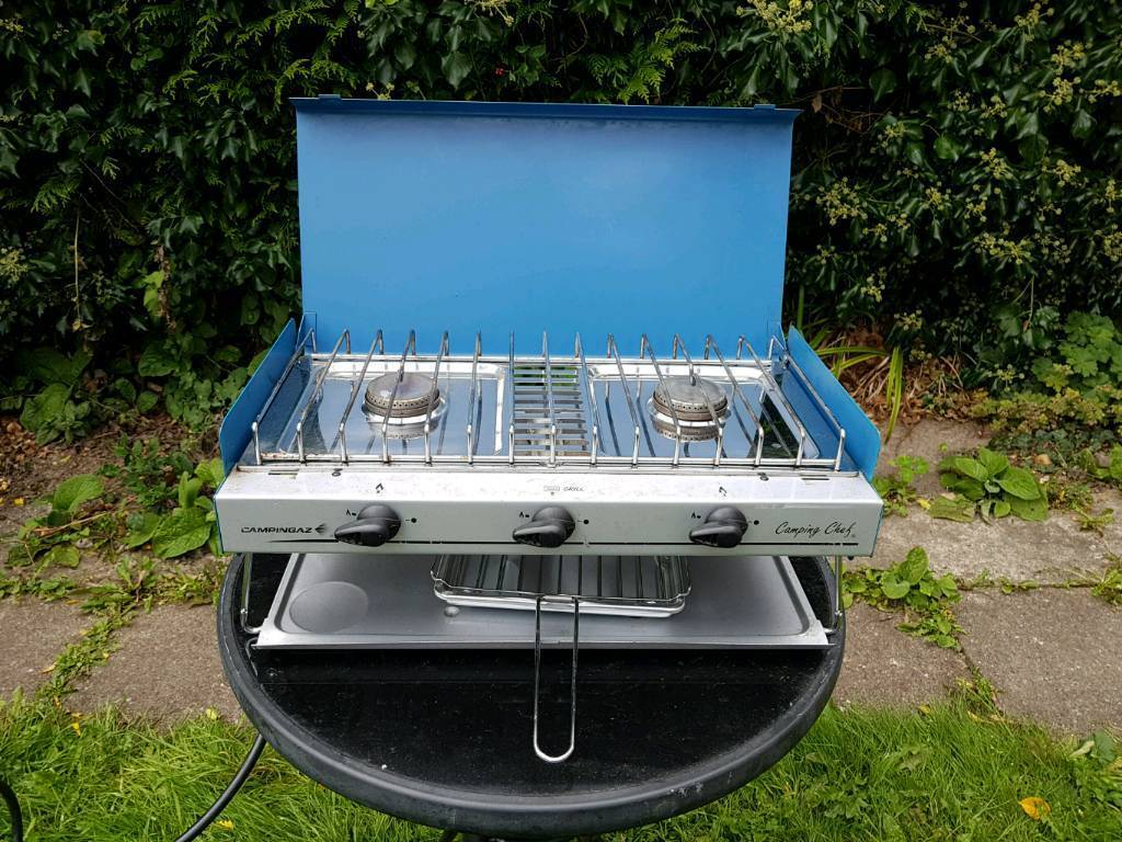 Campingaz Camping Chef 2 ring burner and grill | in Llandaff ...