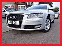 2008 Audi A8 --- TDi 3.0 SE --- Diesel AUTO --- Quattro (LWB) --- Navigation --- Leather -- Audi A 8