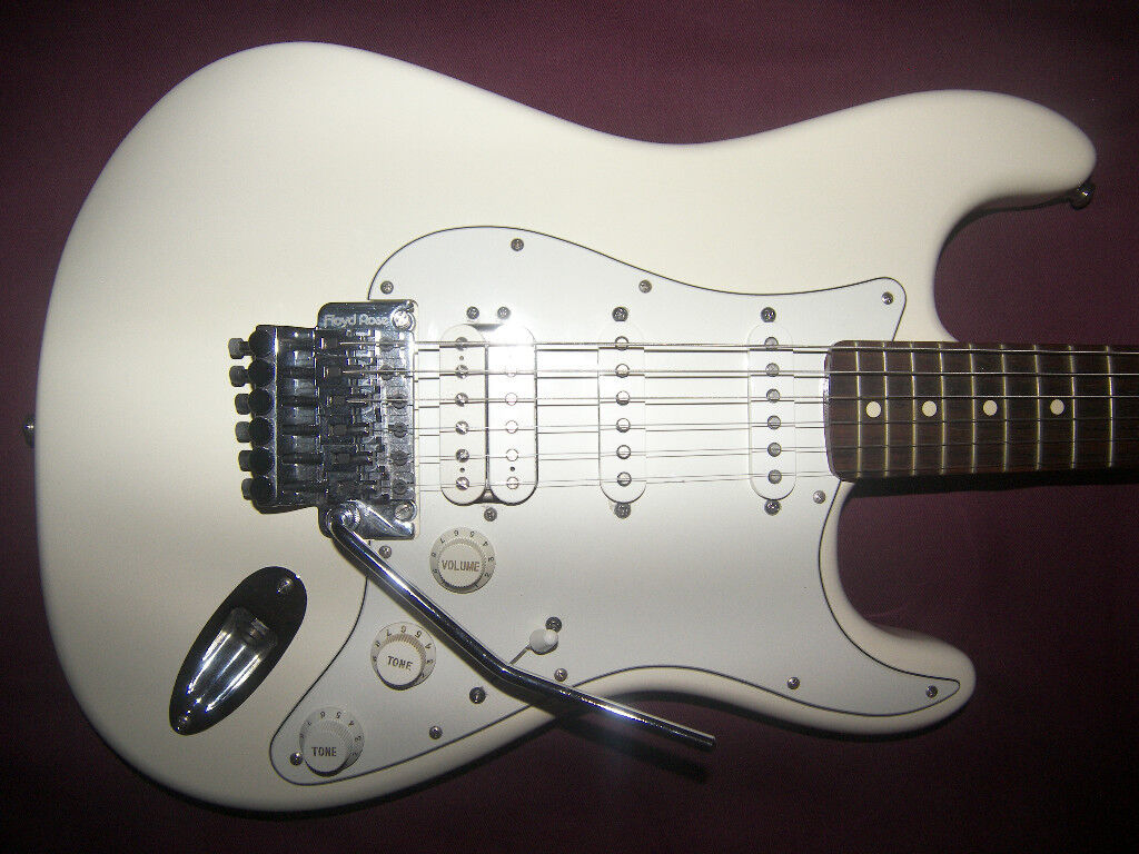 Fender Stratocaster HSS with Floyd Rose , Mexico , Mexican , MIM Electric Guitar (2013 – 2014)