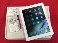 Apple iPad 4 64GB WiFi + Cellular, White, +WARRANTY, NO OFFERS