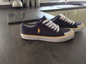 2 pairs of Polo Ralph Lauren shoes for sale