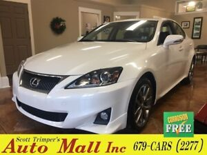 2013 Lexus IS 250 AWD/Leather/Sunroof
