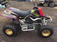 Yamaha banshee quad bike