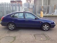 1997 (R) TOYOTA COROLLA 1.6 AUTOMATIC AIR CON 5 DOOR HATCHBACK LOW MILEAGE ELECTRIC WINDOWS