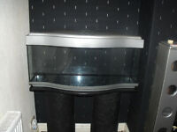 "3ft 4"" fish tank with column base"