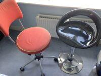 IKEA Desk chair and Bar stool