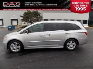2014 Honda Odyssey Touring Navigation/TV-DVD/Sunroof/Leather