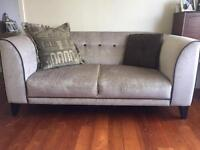 Luxury DFS Sofa and cuddle chair