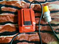 hilti battery charger c4/36-90 110v