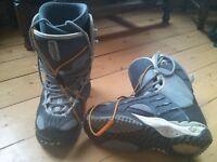 Vans snowboard boots size 7