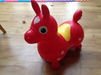Rody inflatable horse