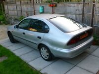1994 L-Reg TOYOTA COROLLA 1.3 GLi 5 Door, MOT May 2017, 3 Owners from new - current owner since 2003