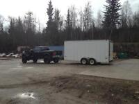 19 by 7&1/2 foot inclosed trailer