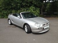 2001 51 REG MG MGF FREESTYLE/HI SPEC/ LOW MILES/SERVICE HISTORY/ALOYS/FULL LEATHER ...........